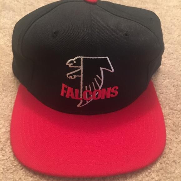 official photos 3f265 04dfb VTG STARTER ATLANTA FALCONS HAT NFL SNAPBACK CAP. M 5b4c707bdcf855181e01463a